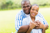 Young african american couple — Stock Photo