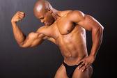 Muscular african man — Stock Photo