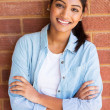 Indian student with arms crossed — Stock Photo #47158589