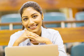 Indian college girl close up — Stock Photo