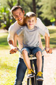 Father and son spending time together — Stock Photo