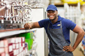 Hardware store worker — Stock Photo