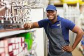 Hardware store worker — Stock Photo