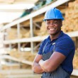 Industrial worker with crossed arms — Stock Photo #47582219