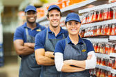 Hardware store co-workers — Stock Photo