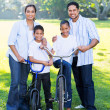 Young indian family of four — Stock Photo #49177635
