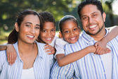 Indian family having fun together — Stock Photo