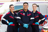 Group of paramedics — Stock Photo