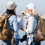 Two female tourists — Stock Photo #49243421