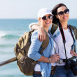 Two pretty female tourists — Stock Photo #49244305