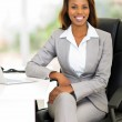 African female business executive in office — Stock Photo #50595445