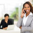 African american businesswoman talking on smart phone — Stock Photo #50599197
