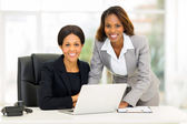 African american business women in office — Stock Photo
