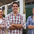 Farm workers — Stock Photo #50644755