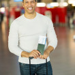 Man with boarding pass — Stock Photo #51625515