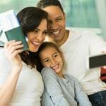 Family taking selfie — Stock Photo #51629383