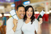 Couple going on vacation — Stock Photo