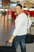Male traveller — Stock Photo