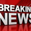 Breaking News Screen — Foto de stock #12553000