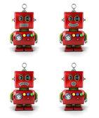 小小机器人 — 图库照片