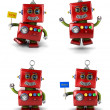 Little robot - Foto Stock