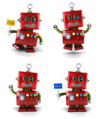 Piccolo robot — Foto Stock