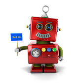 Malý robot — Stock fotografie