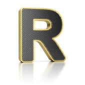 Letter R — Stock Photo