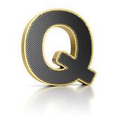 Letter Q — Stock Photo