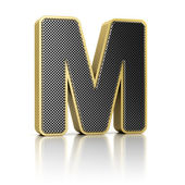 Letter M — Stock Photo