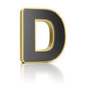 Letter D — Stock Photo