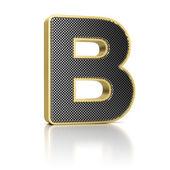 Letter B — Stock Photo