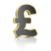 British Pound Sign — Stock Photo