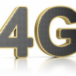 Royalty-Free Stock Photo: 4G Symbol