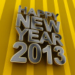 Stock Photo: Happy New Year 2013