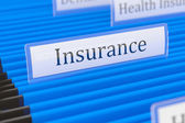 Insurance File Folder — Stock Photo