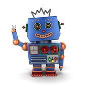 Sventolando robot giocattolo vintage — Foto Stock