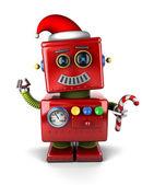 Santa Claus robot — Stock fotografie