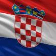 Flag of Croatia — Stockfoto
