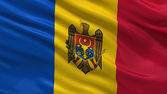 Flag of Moldova — Stock Photo