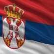 Flag of Serbia — Photo