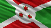 Flag of Burundi — Stock Photo