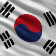 Flag of South Korea — Stockfoto