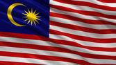 Flag of Malaysia — Stock Photo