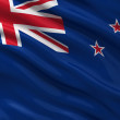 Flag of New Zealand — Stockfoto