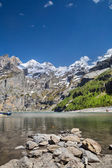 Oeschinen Lake — Stock Photo