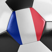France Soccer Ball — Stock Photo