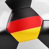 Germany Soccer Ball — Stock Photo