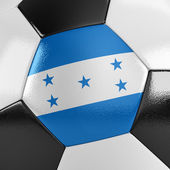 Honduras Soccer Ball — Stock Photo