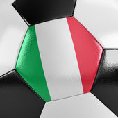 Italy Soccer Ball — Stock Photo